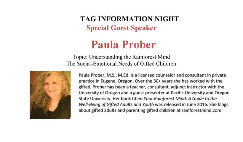TAG Information Night